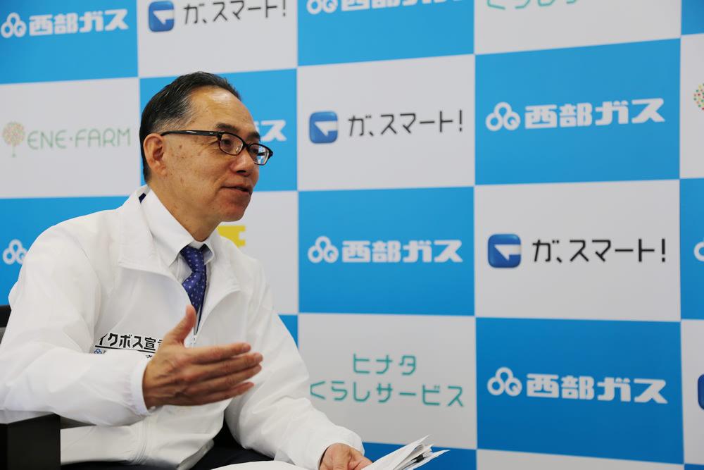 【インタビュー】髙山健司さん(西部ガス株式会社 執行役員 人事労政部長)